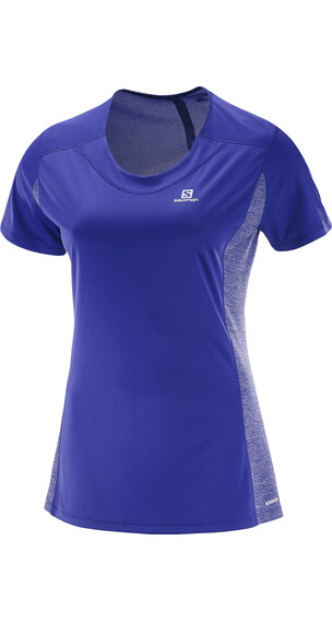 Salomon Agile SS Shirt Women spectrum blue